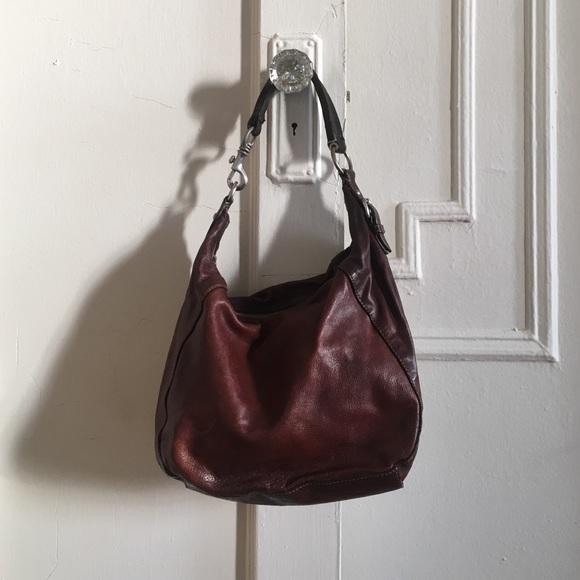 Vintage brown leather Miu Miu bag. M 56b6668d4225be559f009f18 3c262854fd