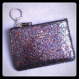 Coach Glitter Collection Key Pouch 65174