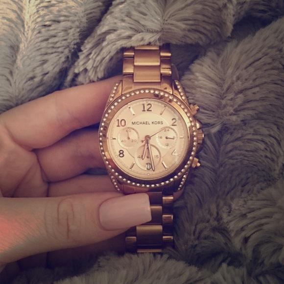 e3f955003 Michael Kors Accessories   Blair Rose Gold Watch   Poshmark