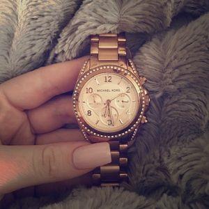 c97347150945 Michael Kors Accessories - Michael Kors Blair Rose Gold watch
