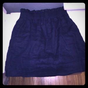 J Crew Navy Skirt