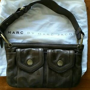 Marc by Marc Jacobs brown leather bag