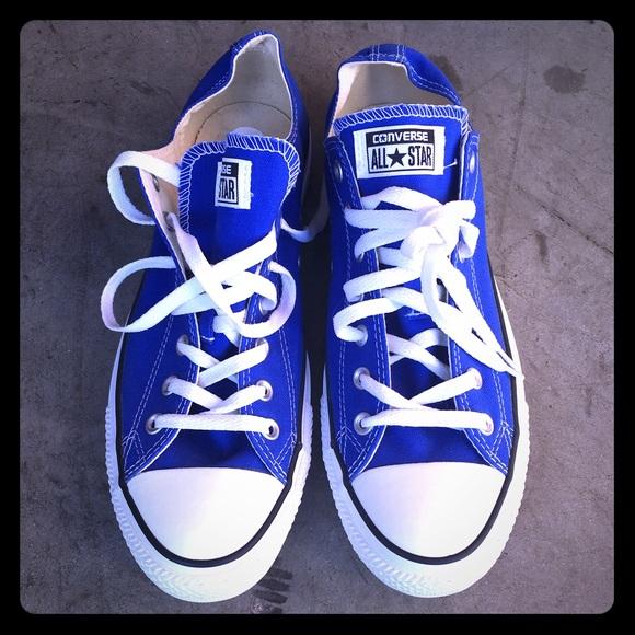 1d2b3cfb43b2 Converse Shoes - Converse All-Star Chuck Taylor Dazzling Blue RARE