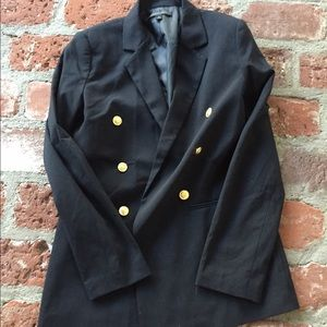 Blaque Label Jackets & Blazers - Black blazer with gold buttons