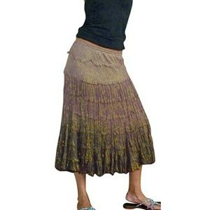 T-Bags Dresses & Skirts - 🎉HP🎉 T-BAGS Los Angeles peasant boho skirt