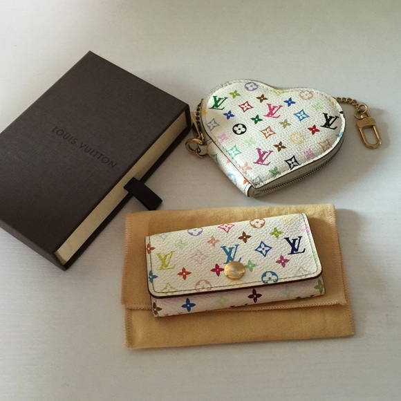 9f14220a932f Louis Vuitton Accessories - Louis Vuitton Murakami 4 Key Holder, SLG