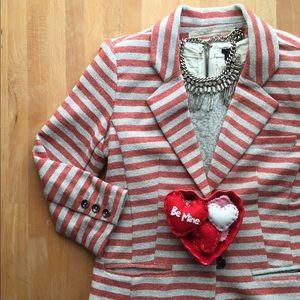 Anthro striped jacket