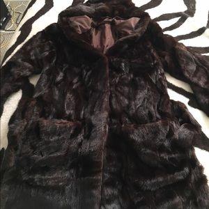 Outerwear - Mink fur coat