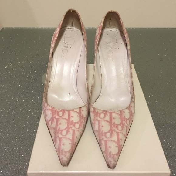 Dior Shoes   Christian Dior Pink And
