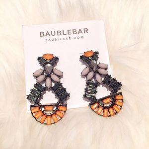 BaubleBar Orange Drop Earrings
