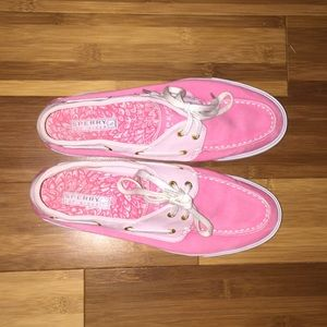 Sperry Top-Sider Shoes - Pink sperry topsiders