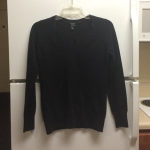 Talbots Black Cashmere Sweater