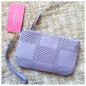 Isaac Mizrahi Handbags - LAST CHANCE Isaac Mizrahi Perforated Wristlet