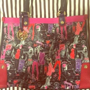 Henri Bendel New York minute tote NWT