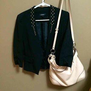 Studded blazer