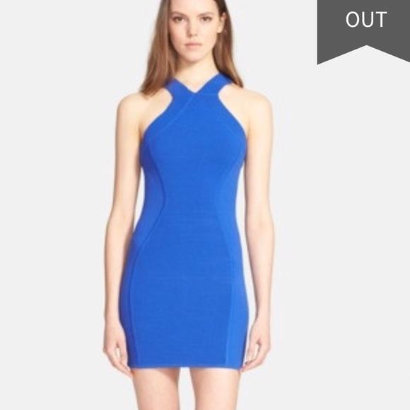 34ad37eb3b6 Parker blue bodycon dress SZ xs