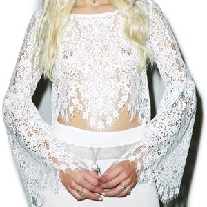 For love and lemons crop top