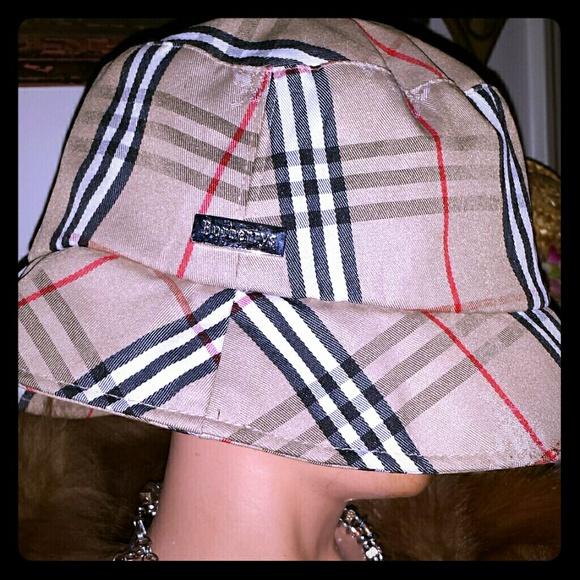 Burberry Accessories - SALE Authentic Burberry hat mint condition 08c003cf2