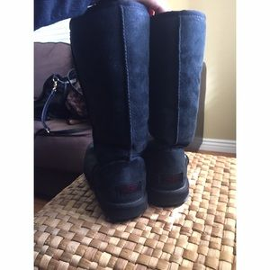 ugg shoes blackoxblood classic tall boot poshmark rh poshmark com