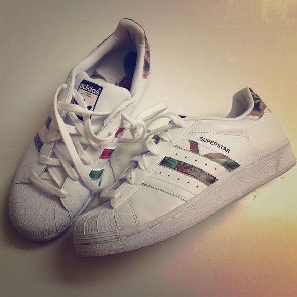 Adidas Superstar Kvinner Størrelse 7 3Mmfd6k