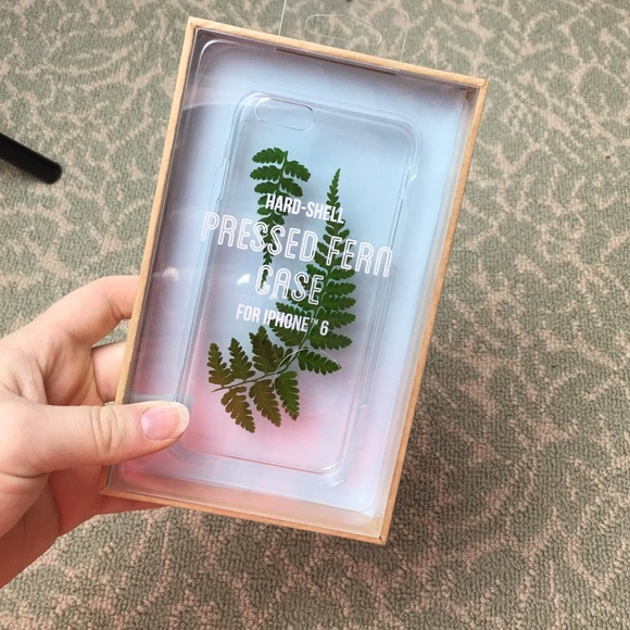 Urban Outfitters Accessories Uo Hardshell Fern Iphone 6s Phone