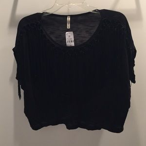 LF Tops - NWT LF Stores Black Knit Top