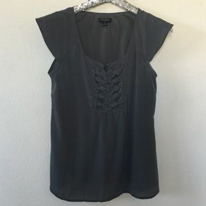 Banana Republic Charcoal Top, Size small