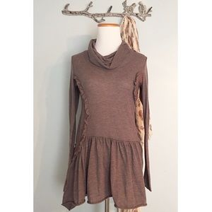 Anthropologie Whirling Tunic