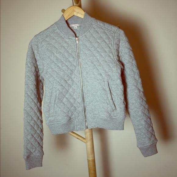 64% off GAP Jackets & Blazers - Gap quilted sweatshirt bomber ... : quilted sweatshirt jacket - Adamdwight.com