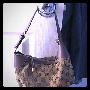Gorgeous lavender limited edition Gucci mini bag