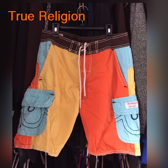 813d835ad7 Men's True Religion swim trunks 🏊🏄. M_56b784abea3f36776400559b