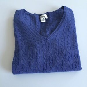 Lilly Pulitzer navy cashmere sweater