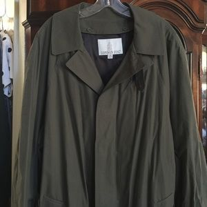 MEN London fog trench raincoat Never been worn