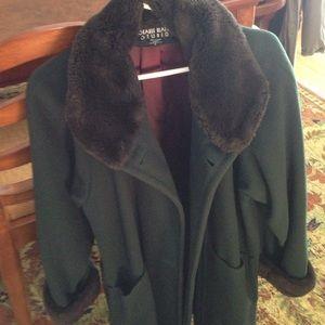 Searle Jackets & Blazers - Searle Blatt Studio 3/4 Swing Coat size 2 VINTAGE