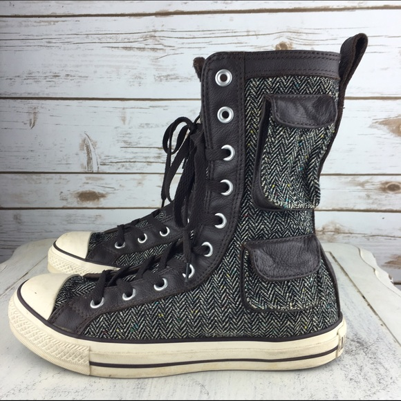 cb158072f5ba Converse Shoes -  Converse  Military X All Stars Hi Top Pocket Boot