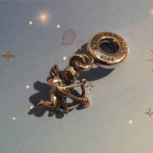 Pandora Authentic Pandora Cupid Charm Jared Exclusive from
