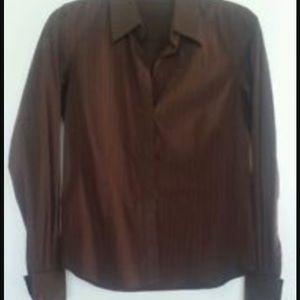 Thomas Pink  Tops - Beautiful brown shirt with burnt orange sheen