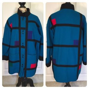 Vintage 80's Herman Kay coat