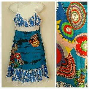 "Dresses & Skirts - ""Sail away"" Urban Chic patchwork dress NWT"