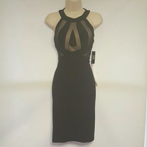 Nightway Dresses & Skirts - Sexy black/nude dress