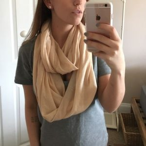 14th & Union Accessories - 🆕Peach Cotton Infinity Scarf