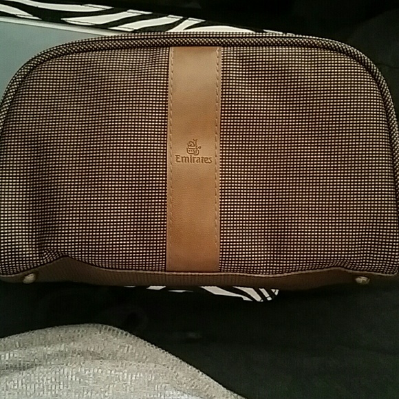 Aeronautica Transportation Collectables Bvlgari Travel Wash Bag Mens New Emirates Luxury