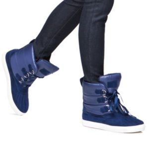 Shoedazzle Shoes - Jannie padded sneaker booties