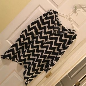 14th & Union Tops - 14th & Union Chevron Blouse