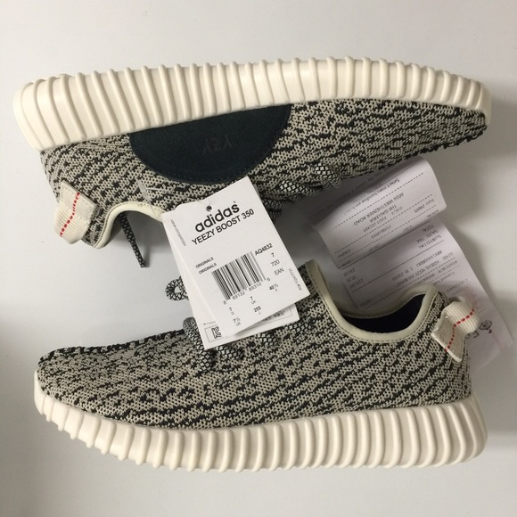 100% Authentic Adidas Yeezy Boost 350 turtle dove