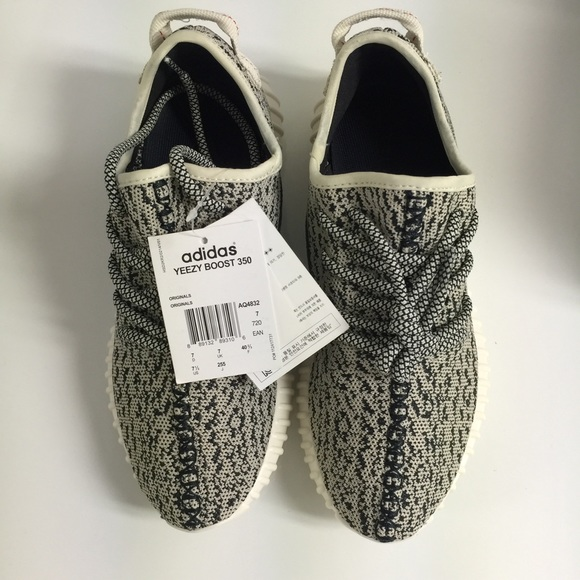 Adidas Yeezy Boost 350 Turtle Dove Aq 4832 Size 8.5 100% Authentic