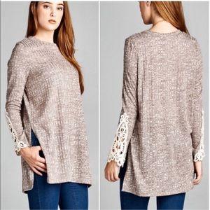 sale Long sleeve knit top