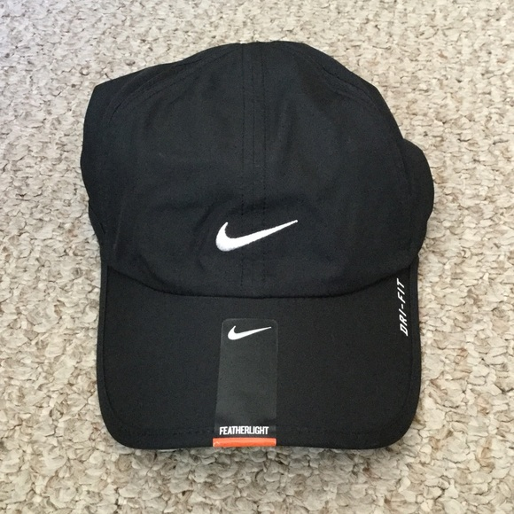 c4d9a2857beb09 Accessories | Women Black Nike Running Hat | Poshmark