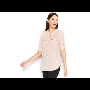 Calvin Klein Tops - Calvin Klein Camel-Colored Blouse