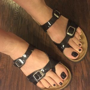Gextop leather Birkenstock style Italian sandals 8
